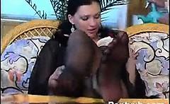 Horny Chick Pantyhose Sex