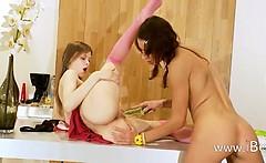 Two russian teens Natasha and Beata