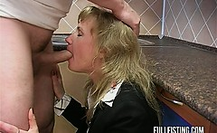Hot Bitch Gets Fisted And Ass-Fucked In The Kitchen