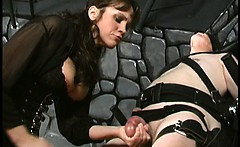 Extreme mature amateur dominatrix bizarre cbt fetish
