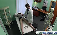 Redhead chick railed by a fake doctor