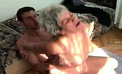 great looking natural granny