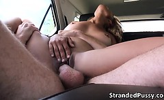 Unplanned sex in the backseat of the car