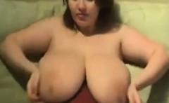 Young Mother With Lactating Breasts