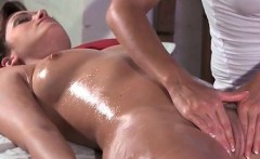 Sexy blonde and brunette lesbians get