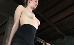 Tied up ginger sub clit dominated by guy