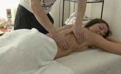 Relaxing massage with hard rod