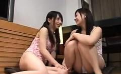 Japanese Girls Masturbating Each Other