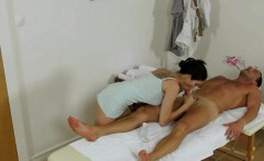 Horny Masseuse Miyuki Cant Resist Going For The Cock