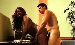 Busty Ebony Slut Getting Fucked