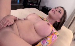 Phat ass white girl Krissy Lynn throats big cock and analed