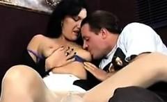 Mature Slut Wearing Pantyhose