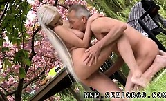 Paul is loving his breakfast in the garden with his new girl