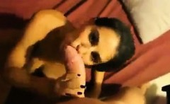 hot milf gets fucked in all wholes and swallows cum