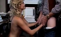 Blonde Slut Having Fun With The Boss