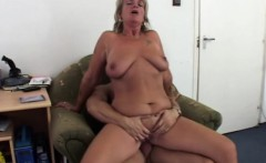 Mature milf gets anal fucked