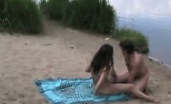 public nudist sex with my busty wife