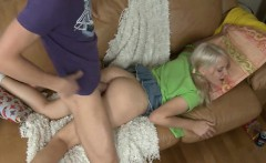 Wild and amorous cowgirl riding