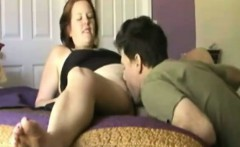 Cougar Annabelle gets big cock in the morning