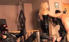 Femdom humiliation bondage couple training