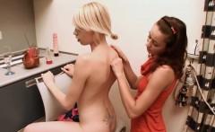 Masturbation in front of a mirror