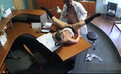 Busty girl anal squirting