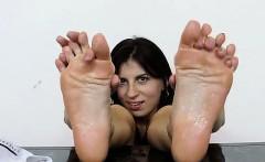 Foxy foot of Fernanda