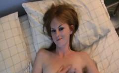 Skinny Redhead Girlfriend Homemade Pussy Masturbation