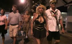 Mardi Grass sluts going crazy in public
