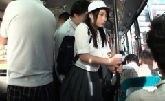 Horny Asian teenage girl loves when