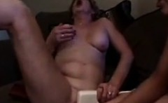 Old Woman Loves This Girls Young Pussy