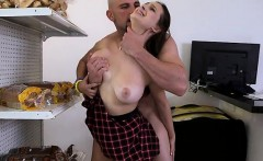 Schoolgirl Gags On Cock And Bends Over For More