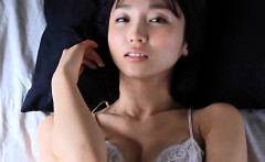 Softcore Asian Cutie Wearing Lingerie