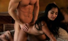 Babe Banged On The Bed By Her Big Man