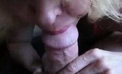 Kinky Grandmother Gives A Nice Blowjob