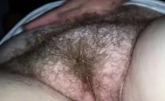 Fingering a Real Amateur BBW Pussy Closeup