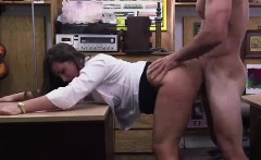 Amateur CFNM MILF fucked by big cock guy for pawn shop cash
