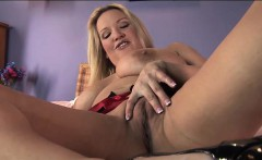 Rachel Love Purple Dildo Solo