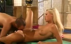 Beautiful Blonde University Student Fucking