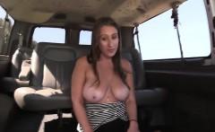 Busty slut facialized