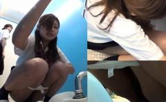 Hairy japanese sluts pee