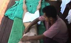 hot japanese girl massage giving techniques