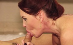 Redhead and MILF Janette Mason gets fucked
