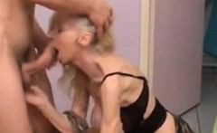 Wrinkly and skinny granny get fucked
