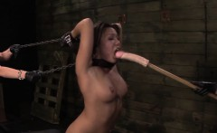 Bdsm mistress rams slave