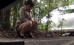 Fetish asians urinating