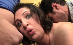 He watches his wife Romina fucked in a gangbang