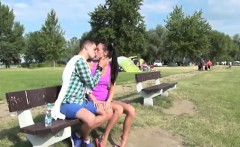 Indian girl cum shot movieture Eveline getting drilled on ca