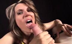 Big Tit Femdom Milf Gives Handjob