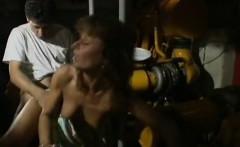 Sharon Mitchell, Jay Pierce, Marco in classic xxx clip